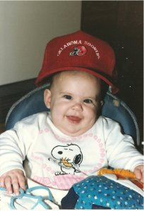 Hello, WORLD'S FATTEST, UGLIEST, CROSS-EYEDIEST BABY. It's a wonder I grew up looking half-way decent.